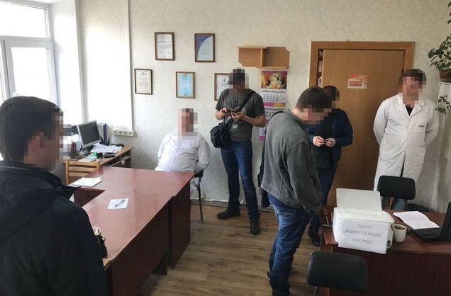 У Києві СБУ затримала чиновника Департаменту охорони здоров'я КМДА