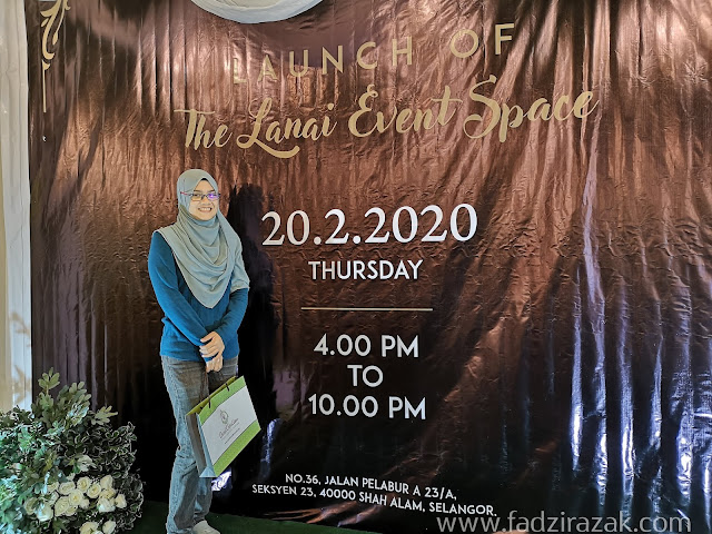 The Lanai Event Space, Shah Alam