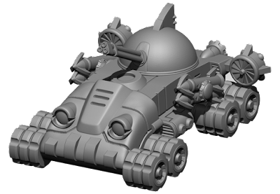 Kraken class tank