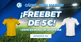 Paston Los Favoritos Cádiz vs Real Madrid 21-4-2021
