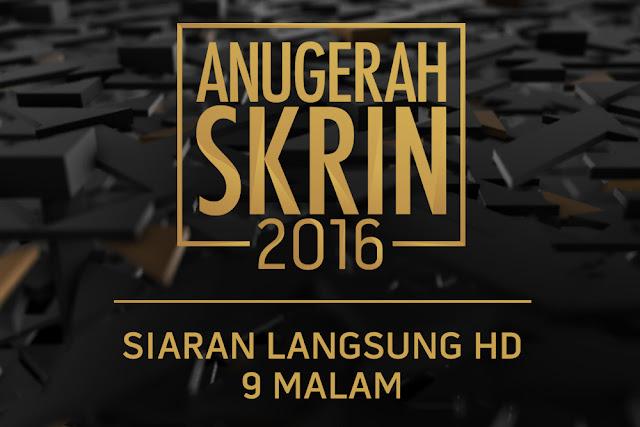 Siapa Menang Anugerah Skrin 2016...