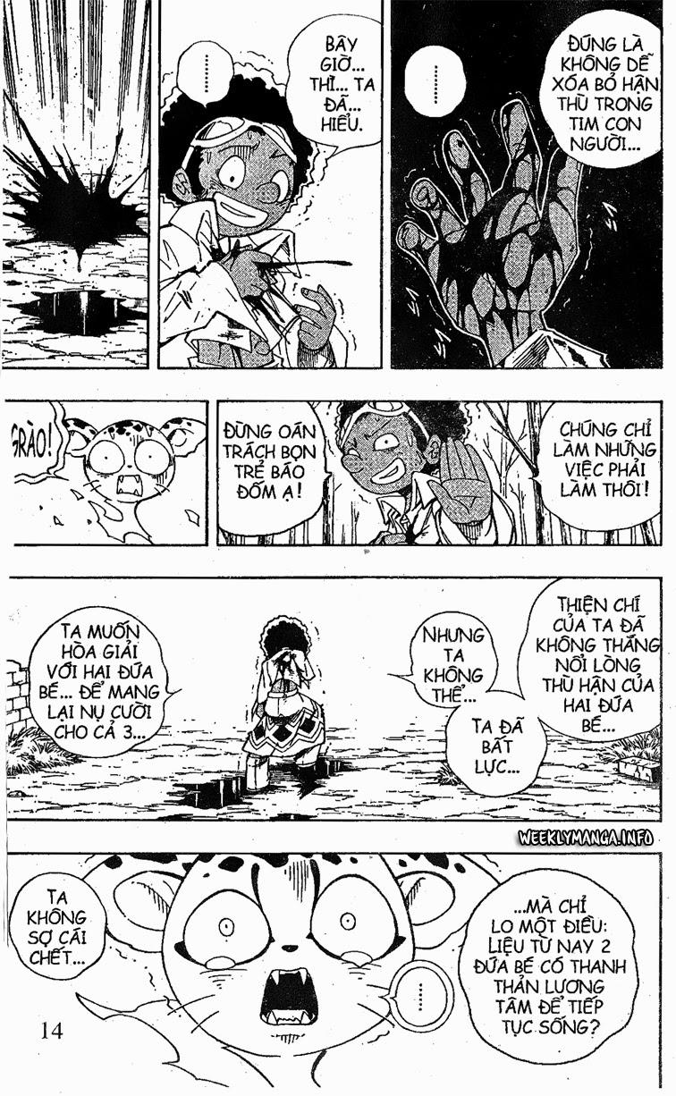 Shaman King [Vua pháp thuật] chap 191 trang 15