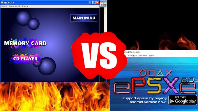 PSXfin vs ePSXe ¿Cuál es el mejor emulador de Playstation 1?