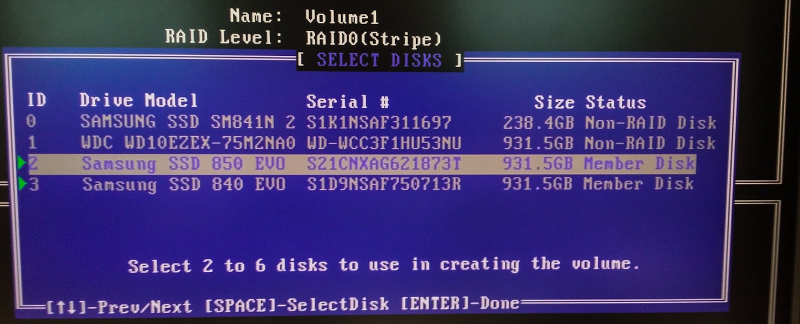 How to setup RAID 0 with SSD, Step by step giude ~ Code Ketchup