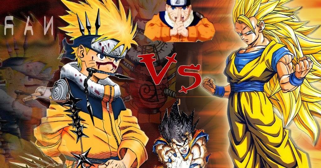Dragon Ball Z VS Naruto Shippuden MUGEN 2015 PC Game