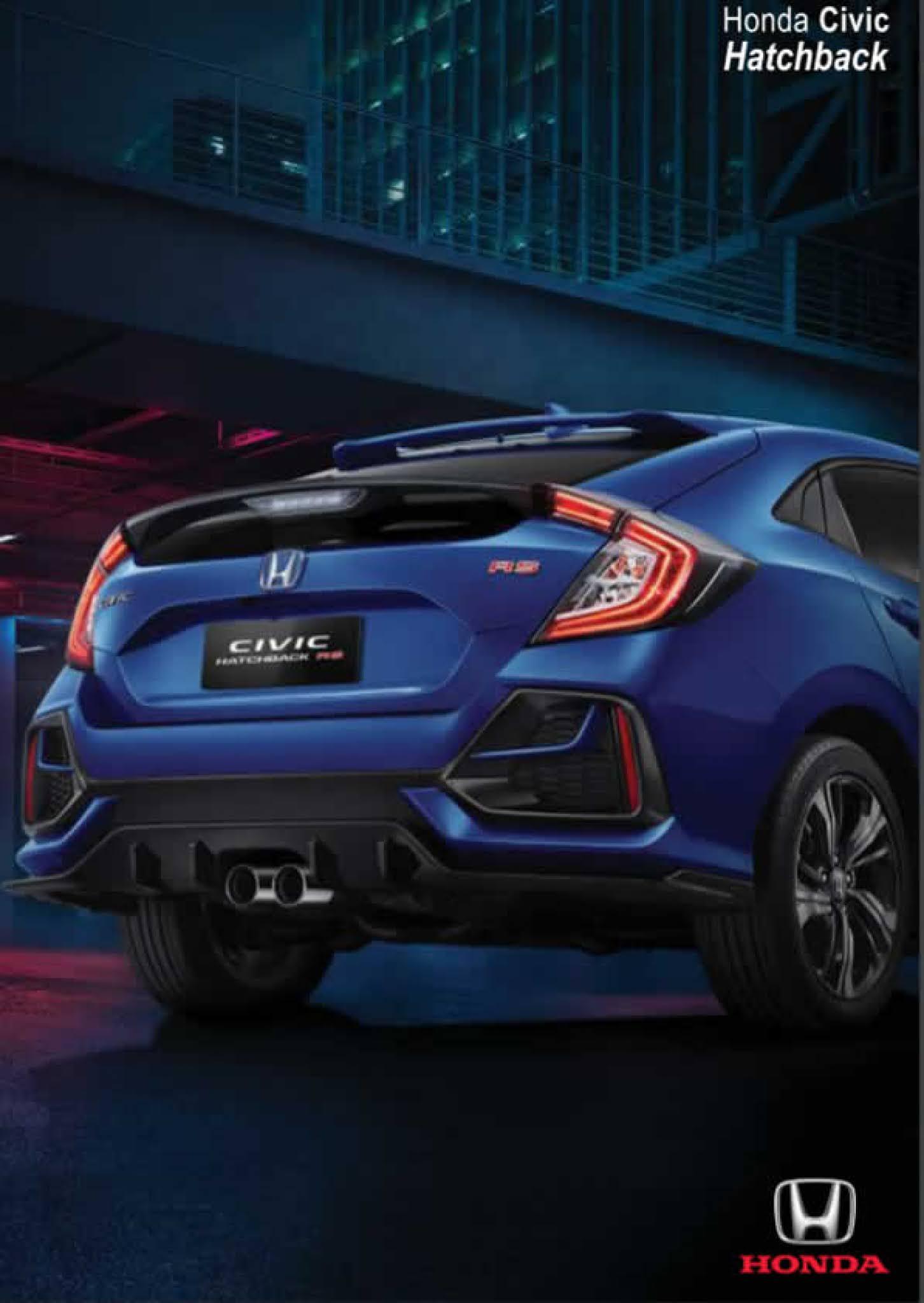 Harga  Honda Civic Hatchback Pekanbaru Riau Terbaru bulan ini 2021