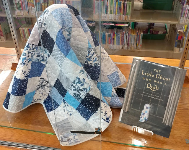 Quilt from The Little Ghost Who Was a Quilt children's book