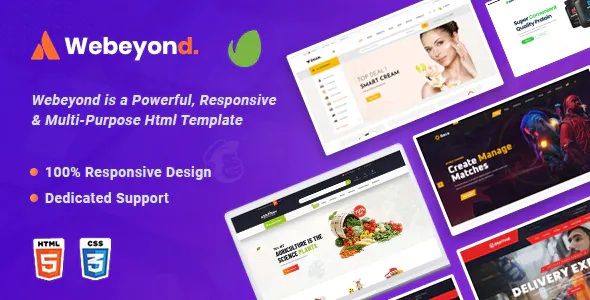Best Multipurpose HTML5 Template Package