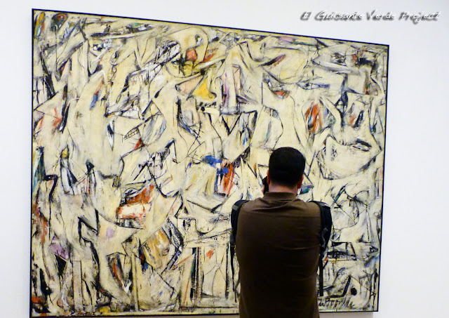Pollock en el Art Institute Chicago, por El Guisante Verde Project