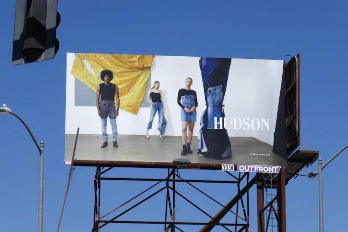 Hudson Jeans S20 billboard