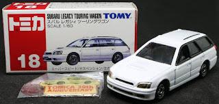 Tomica - 18 Subaru , 紙盒裝