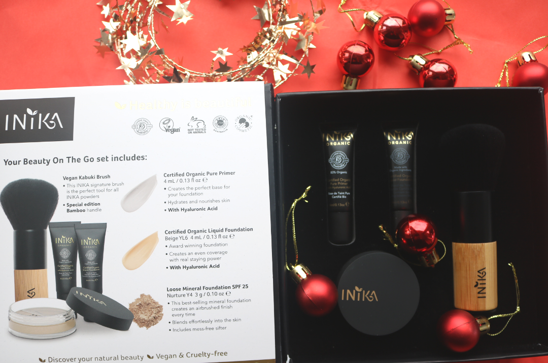 INIKA Limited Edition Beauty On The Go Giftset