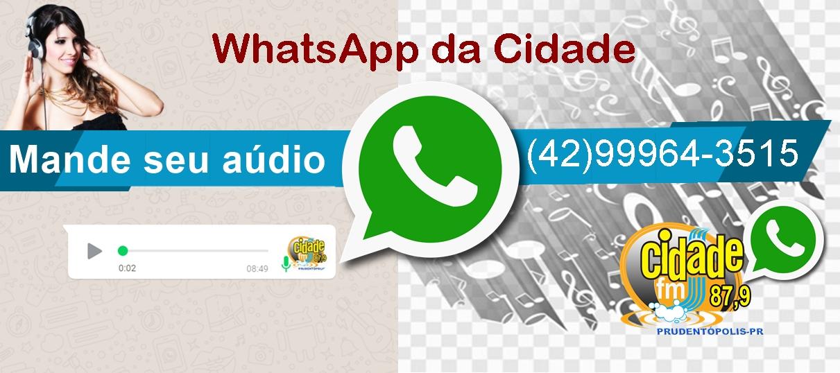 WhatApp da Cidade.