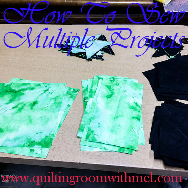 how to sew multiple projects