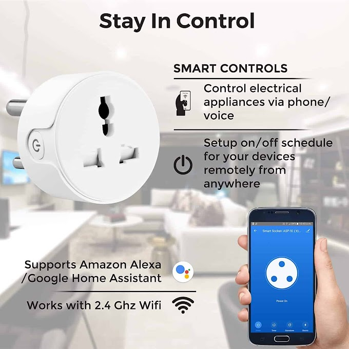 Ambrane plugs Launched with Smart Assistant | Voice Assistant