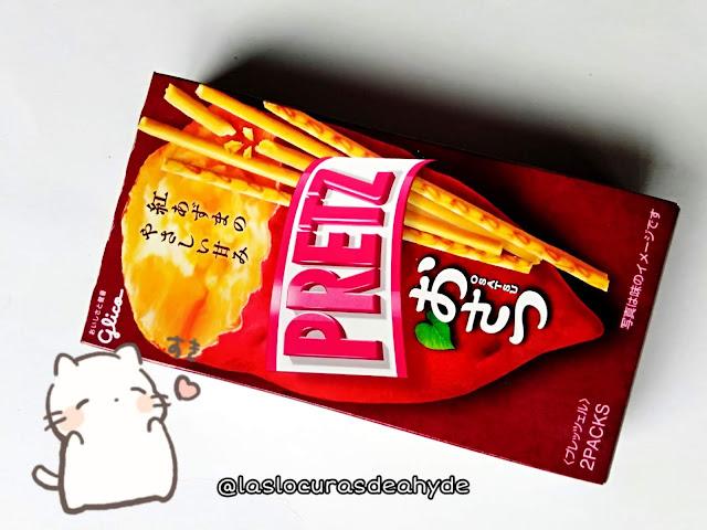 palitos de patata dulce