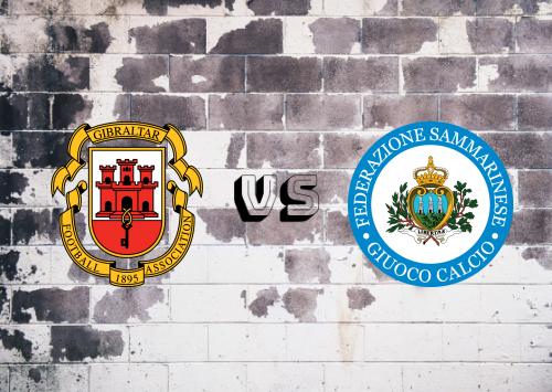 Gibraltar vs San Marino  Resumen