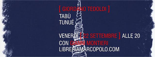 Tabù alla MarcoPolo - venerdì 22 settembre
