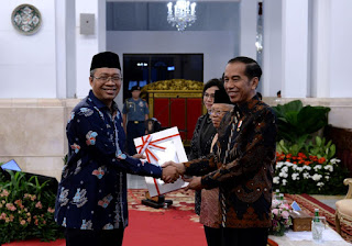 Gubernur NTB Terima DIPA dan TKDD dari Presiden