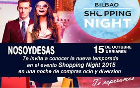 bilbao shopping night
