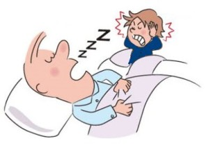 Snoring tips in Hindi.