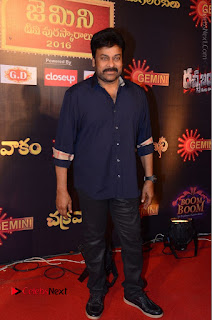 Chiranjeevi Stills at Gemini TV Puraskaralu Event  0009.JPG
