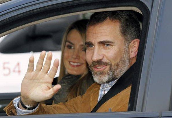 King Juan Carlos underwent an operation on his left hip. Princess Letizia, Prince Felipe, Princess Leonor and Princess Sofia