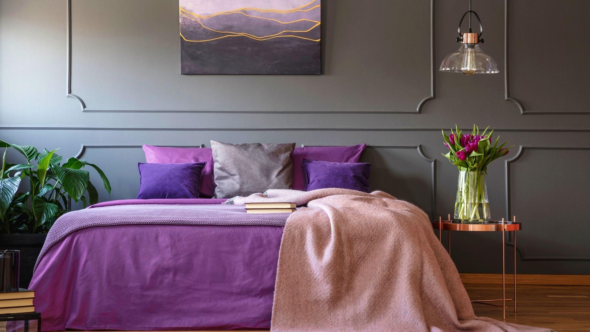 sypialnia inspiracje kolorów