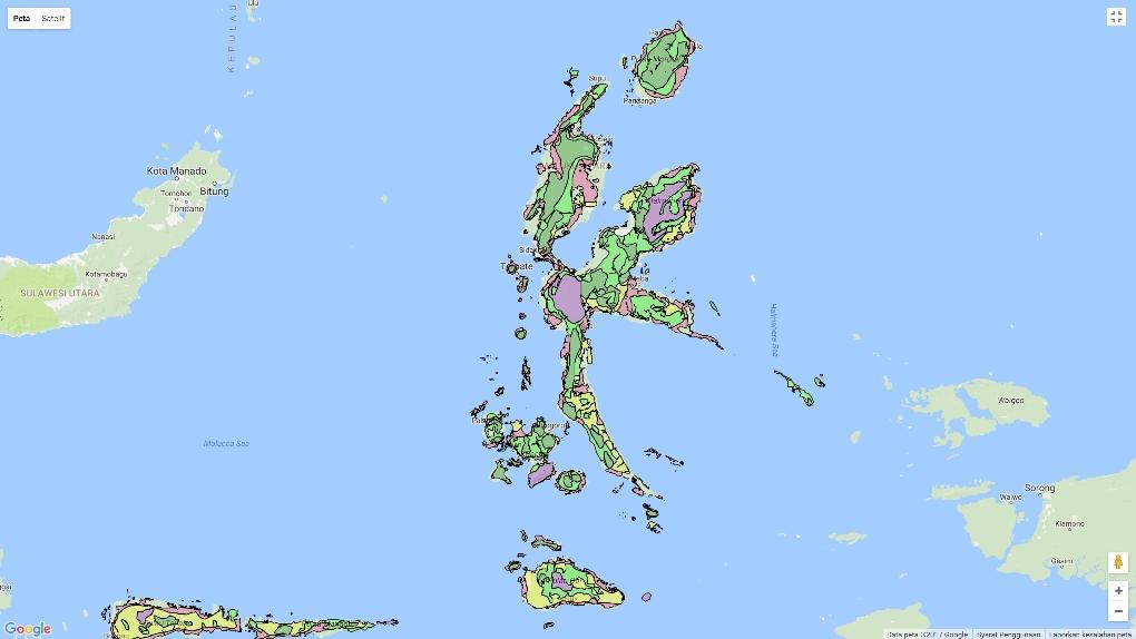 RTRW Maluku Utara