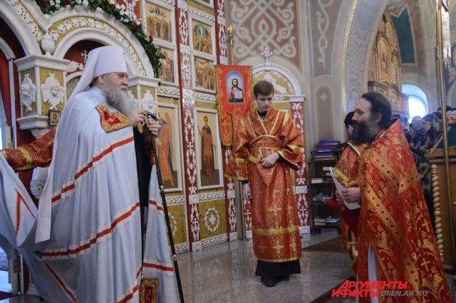 В Оренбурге открылся мужской Монастырь