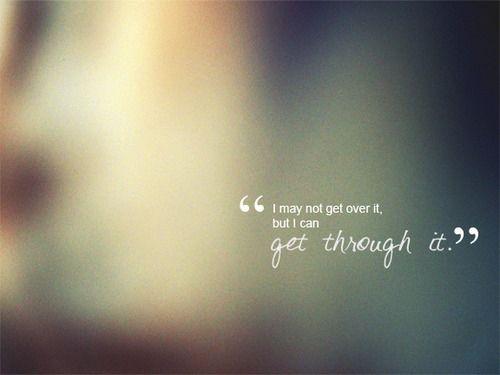 Quotes About Getting Through Depression. QuotesGram