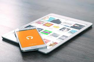 Tablette et smart phone