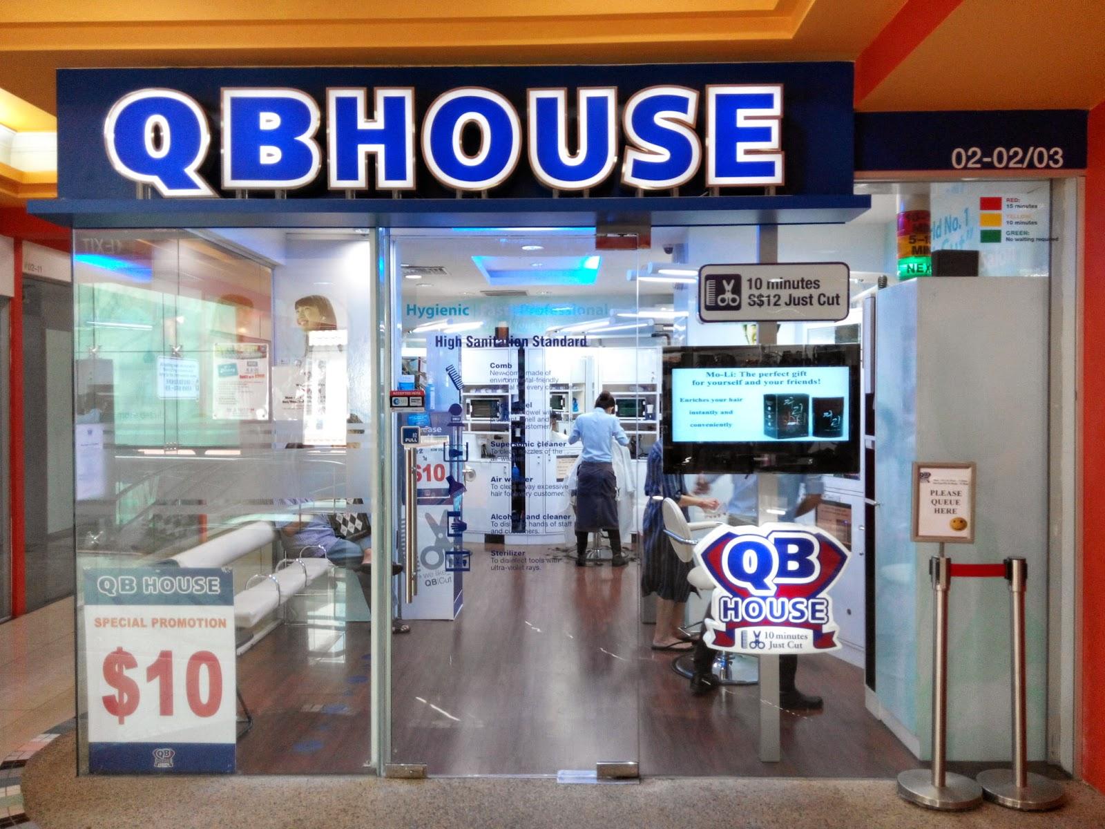 QB House barbershop, Holland Village outlet, Singapore