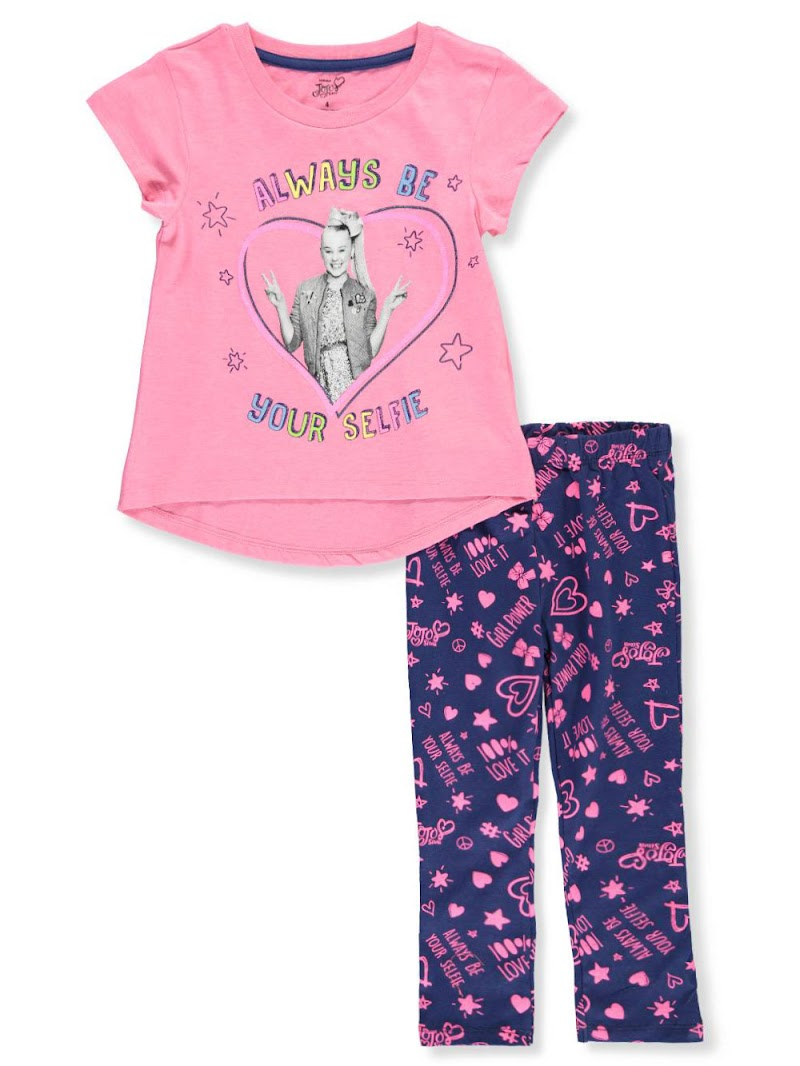COOKIESKIDS - JOJO SIWA GIRLS' 2-PIECE LEGGINGS SET OUTFIT $9.99