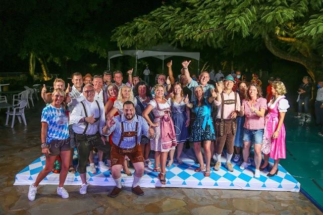 Agentes de viaje alemanes visitan hoteles Amhsa Marina