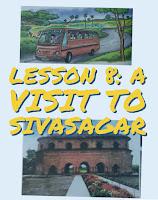 A Visit to Sivasagar | English | Class 4 | Lesson 8 | Questions | Answers | SCERT | ASSAM