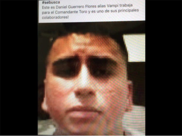 "VIDEO: ""VAMPI"" AUTOR DE VIDEO DEL CDG CONTRA LA FACCION DEL GAMA 3"
