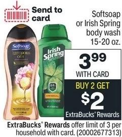 FREE Irish Spring Body Wash CVS Deal 6/20-6/26