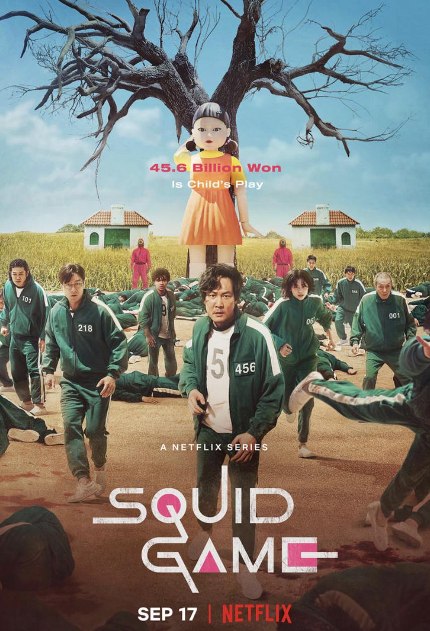 Squid Game Season 1 Dual Audio [Hindi-DD5.1] 720p HDRip