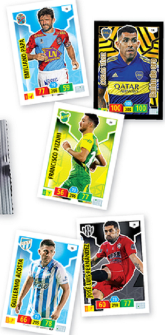 COLECCION COMPLETA ADRENALYN 2019-2020 360 CROMOS
