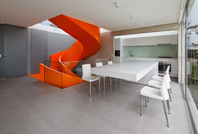 Casa Blanca with Modern Interior & Furniture