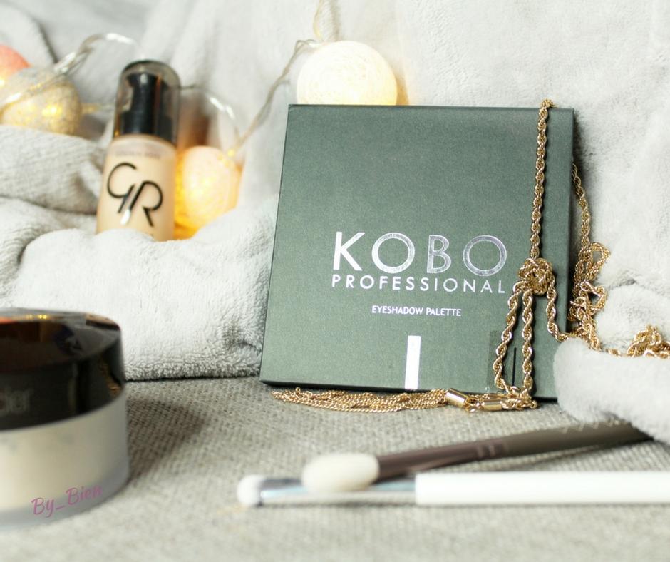 Paleta cieni KOBO PROFESSIONAL MY FAVORITE COLORS - recenzja + makijaż