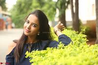 Poojita Super Cute Smile in Blue Top black Trousers at Darsakudu press meet ~ Celebrities Galleries 082.JPG