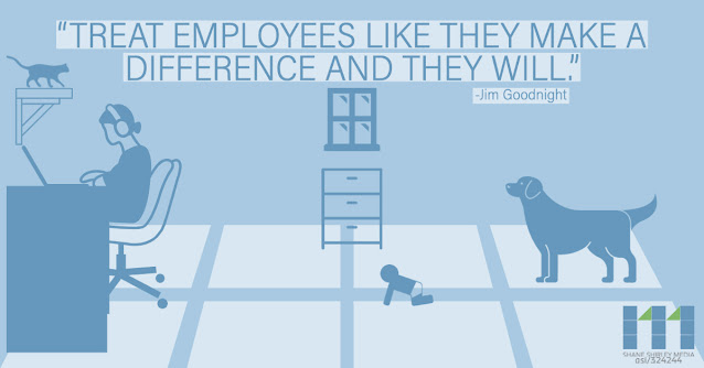 Treat your employees like they make a difference and they will