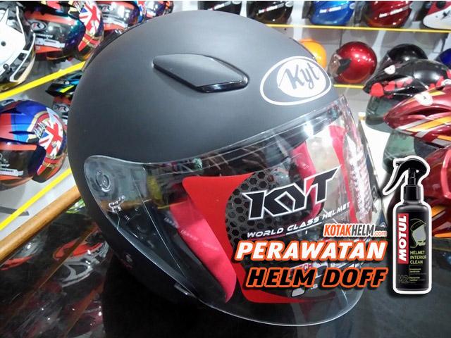 Cara Merawat dan Membersihkan Helm Warna DOFF dengan Mudah