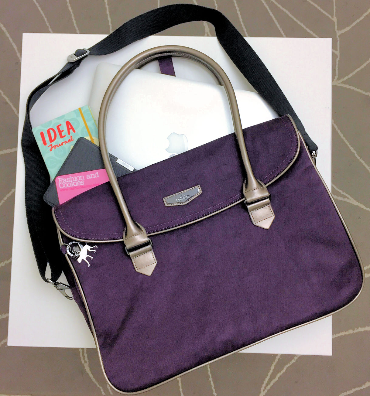 Kipling Superwork bag: the best work bag on Fashion and Cookies fashion blog, fashion blogger