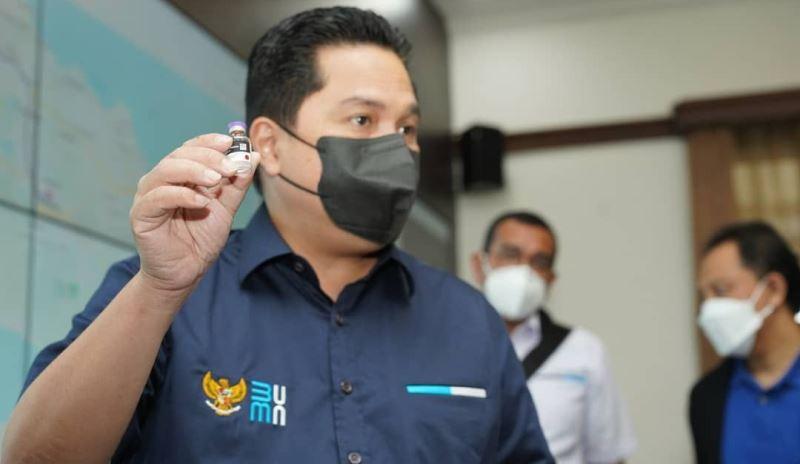 Erick Thohir Minta Kimia Farma Buat SOP Jelas Dalam Penggunaan Alat Rapid Test