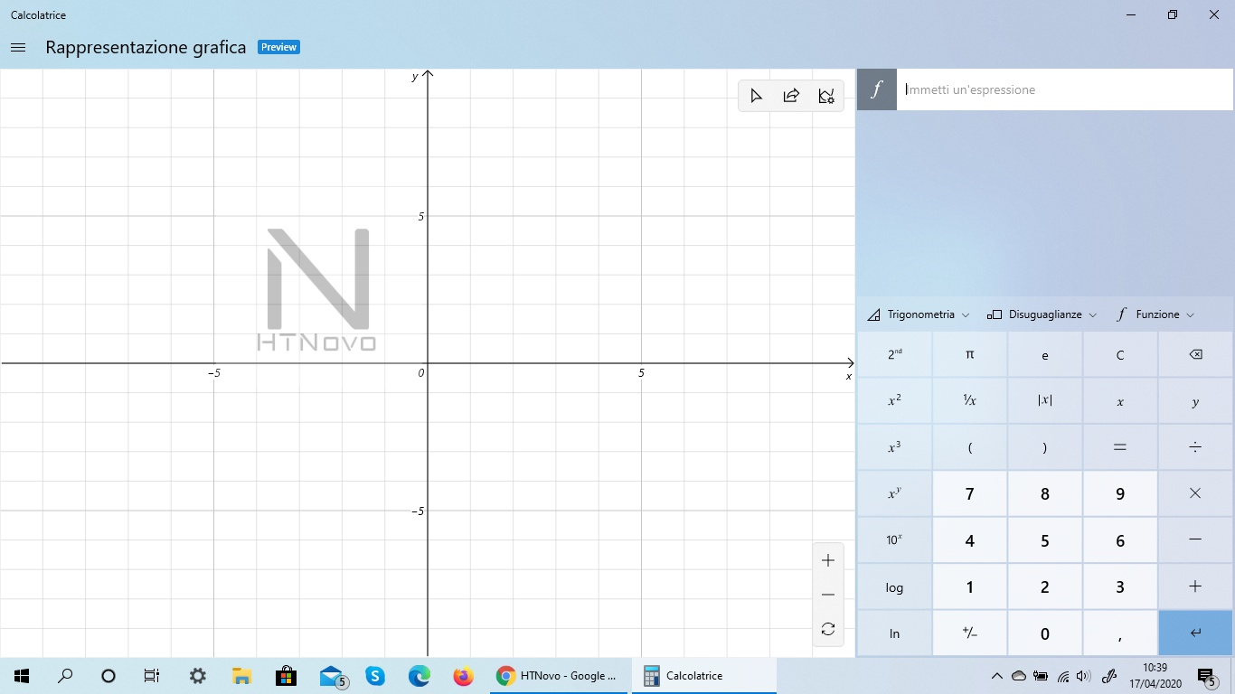 Calcolatrice Windows si aggiorna con modalità grafica per tutti in Windows 10