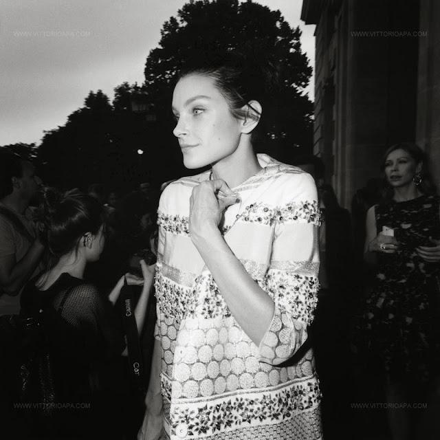 Paris Haute Couture, Jessica Stam, Giambattista Valli show