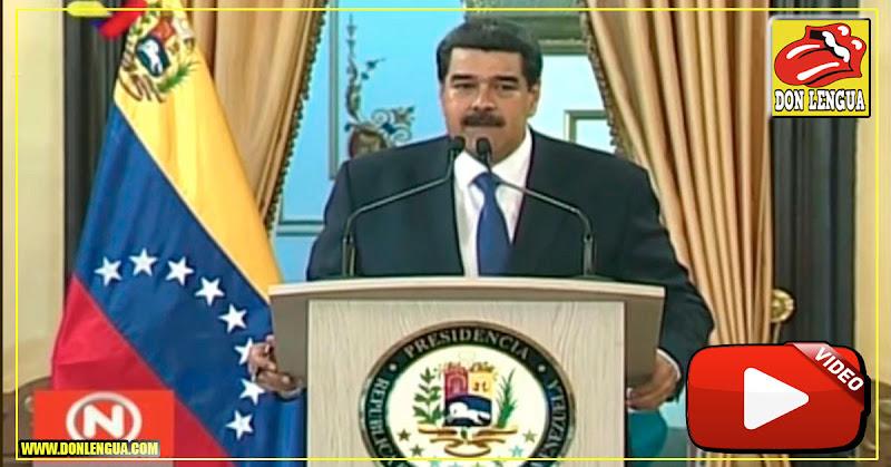 Maduro culpa a soldados estadounidenses de violar niñas en Colombia